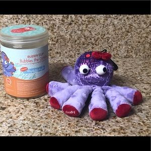 Preowned Scentsy Buddy Clip Bubbles The Octopus